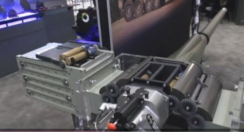 AUSA 2016: XM813 Bushmaster 30mm Chain Gun debut