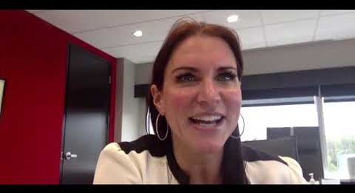 A Role as a Wrestler and as a Leader | Stephanie McMahon clip