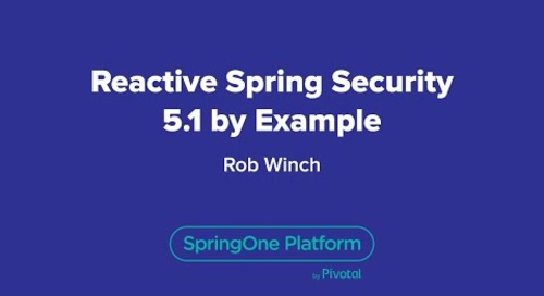 Reactive Spring Security 5.1 by Example