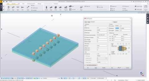 Bolting Tips in Tekla Structures