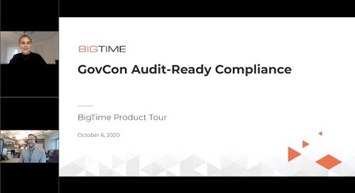 GovCon Audit-Ready Compliance | Product Tour