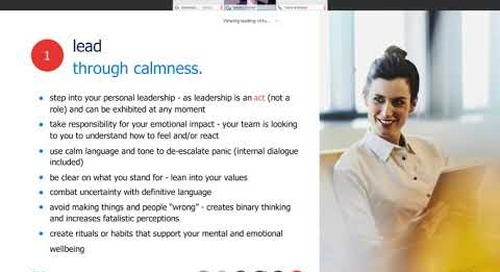 10 tips for leading virtual teams | talent continuity learning series.