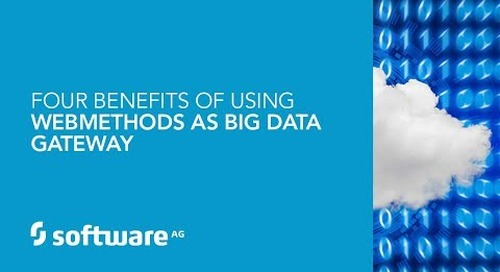 Demo: Four Benefits of Using webMethods as a Big Data Gateway