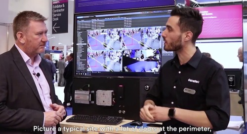 Genetec access control trends discussion at IFSEC 2018