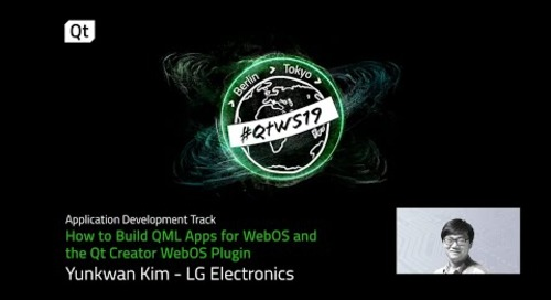 How to build QML apps for webOS and the Qt Creator webOS Plugin