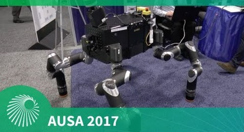 AUSA 2017: Intelligent autonomous systems - manned/unmanned teaming - ARL