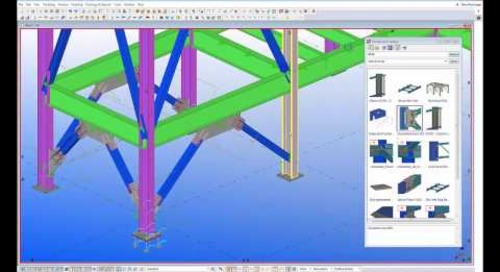Steel Connections with Tekla Structures