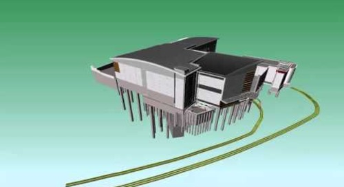 Hobson Street Substation 3D fly through