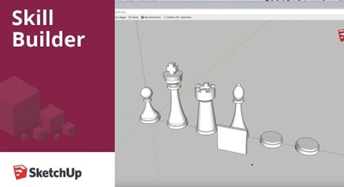[Skill Builder] Modeling a Chess Set Part 4 - Bishop