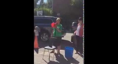 Claire Sumerlus, RHA's Head of School, Takes the Ice Bucket Challenge