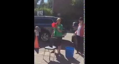 Claire Sumerlus, RHA's Head of School, Takes the Ice Bucket Challenge