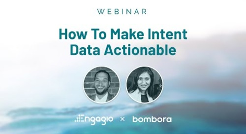 How To Make Intent Data Actionable Webinar