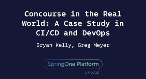 Concourse in the Real World: A Case Study in CI/CD and DevOps - Greg Meyer & Bryan Kelly, Cerner