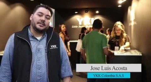Employee Spotlight- Jose Acosta at Colombiatex de las Américas 2019