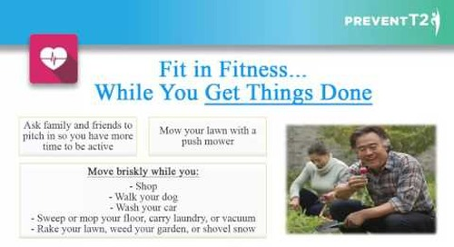 Lesson 10: Find Time For Fitness