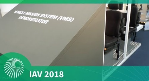 IAV 2018: Leonardo Vehicle Mission Systems (VMS) Demonstrator