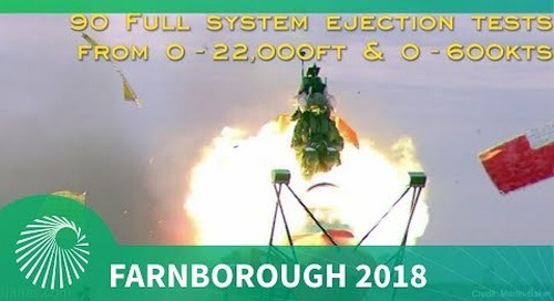 Farnborough 2018: Martin-Baker's ejection seat and escape systems