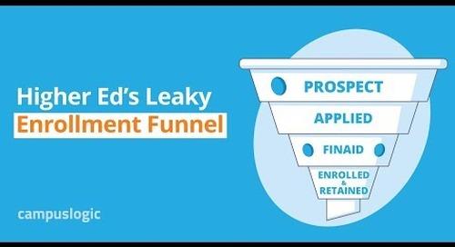 Higher Education's Leaky Enrollment Funnel