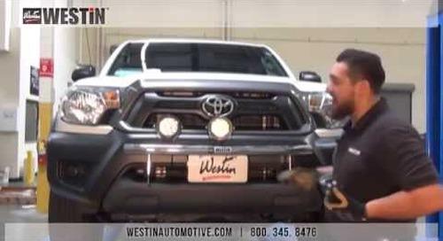 Installation of Westin Off-Road Light Bar on Toyota Tacoma (37-03670)