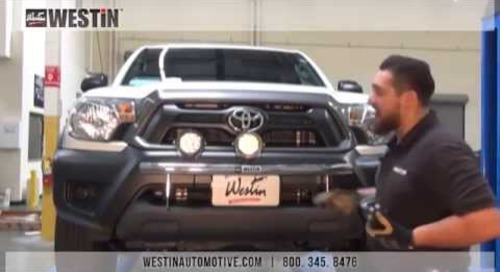 Installation of Westin Off-Road Light Bar on Toyota Tacoma (37-03670)