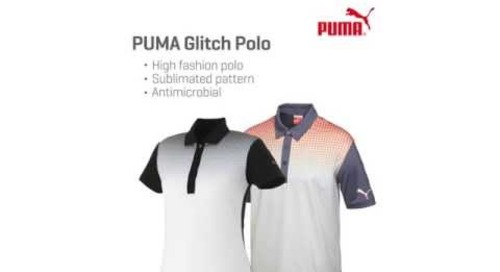 PUMA Glitch Polo