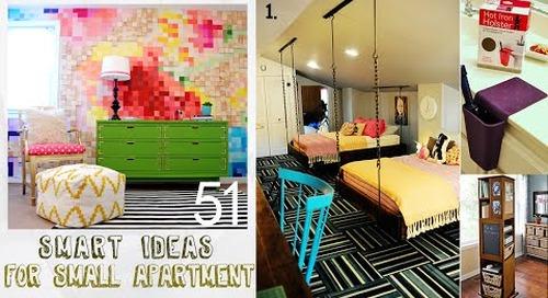 51 Smart decor ideas for Small Apartment