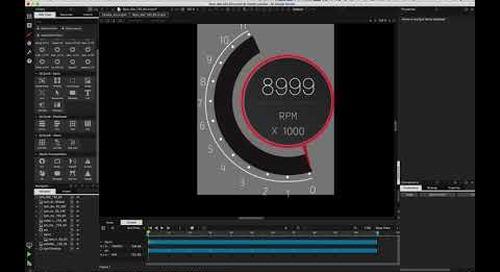 小课堂   如何用Qt Design Studio打造汽车仪表盘(第二部分)