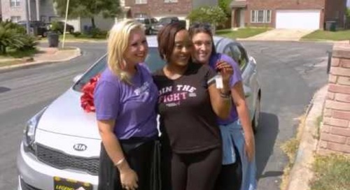 RetailMeNot Surprises Texas Woman with a New Car