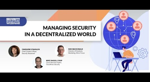 Managing Security in a Decentralized World