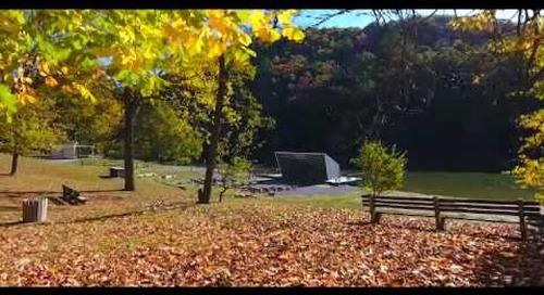 BTN-TV Station ID - Fall in Steele Creek Park