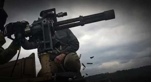 Frag Out! Dillon Aero M134 Minigun Day Polish SOF GROM