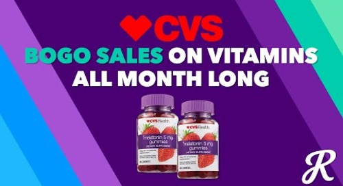 The Deal Download With CVS: Sleep Awareness Month Offers