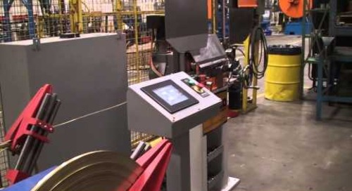 Samco Machinery Ring Curving Rollformer