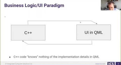 In-Depth Model/View with QML - ICS {Qt Virtual Tech Con 2020}