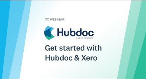 Getting Started with Hubdoc & Xero [NA]