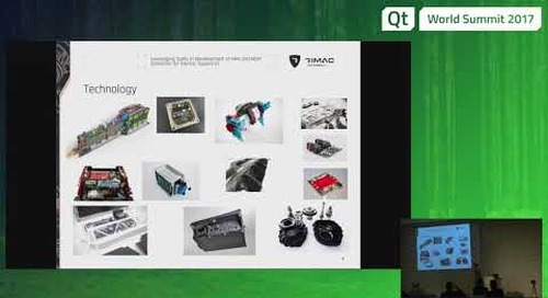 QtWS17 - System-on-Modules HMI and M2M solutions development, Rimac Automobili, Toradex