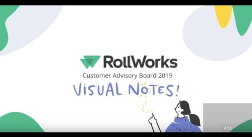 RollWorks Customer Advisory Board 2019