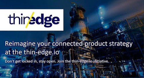 Reimagine your connected product strategy at thin-edge.io   IIoT