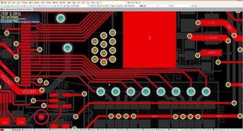 Track Glossing - Altium Designer 17 PCB Design Software