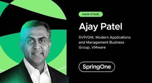 Ajay Patel at SpringOne 2021