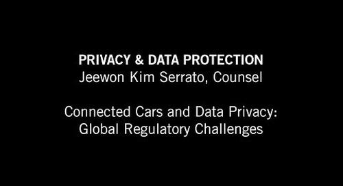 Jeewon Serrato: Global Regulatory Challenges