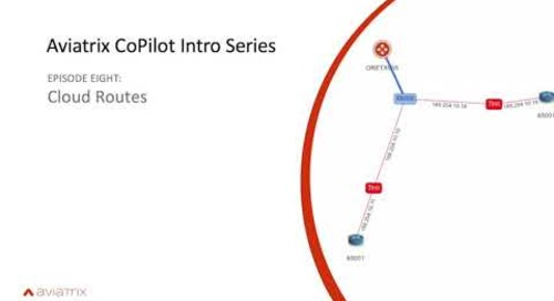 E8 Aviatrix CoPilot Cloud Routes