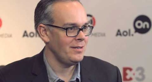 Duncan Fulton In The AOL Conversation Studio at Dx3 2014