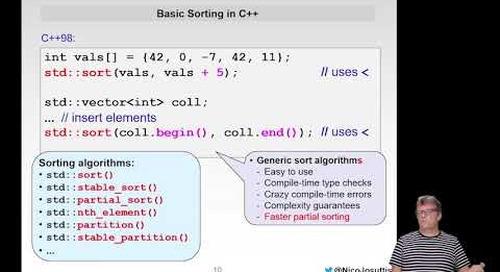 Even More Modern C++