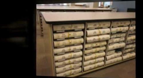 Courthouse Records Boxes Docket Plat Deed Books Storage Racks Save Space