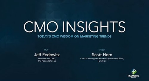 CMO Insights: Scott Horn, CMO of [24]7.ai