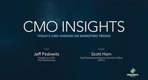 CMO Insights: Scott Horn, CMO of [24]7.ai