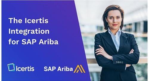 The Icertis Integration for SAP Ariba