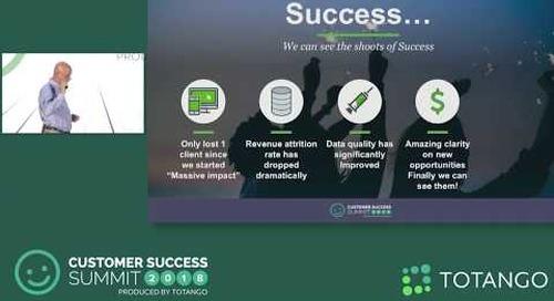 Million Dollar Bet - We're All-in In Customer Success - Customer Success Summit 2018