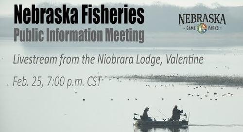 Nebraska Fisheries Public Information Meeting